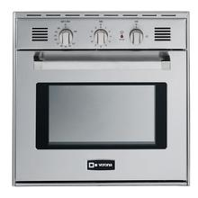 "Stainless Steel 24"" Gas Built-In Oven"