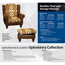 See Details - Rambler Chair and Ottoman