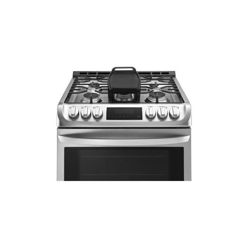 Gallery - 6.3 cu. ft. Gas Single Oven Slide-in Range with ProBake Convection® and EasyClean®
