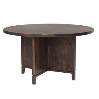 Soma Single Pedestal Table