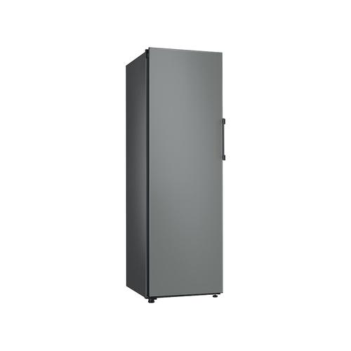 11.4 cu. ft. BESPOKE Flex Column refrigerator with customizable colors and flexible design in Grey Glass