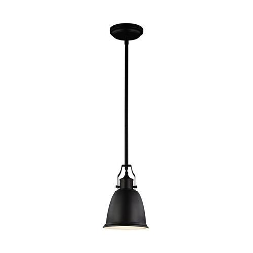 Hobson Small Pendant Satin Nickel