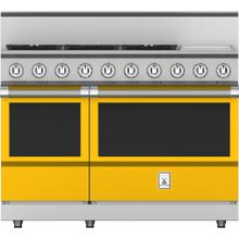 """See Details - 48"""" 5-Burner All Gas Range with 12"""" Griddle - KRG Series - Sol"""