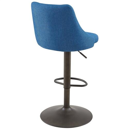 Adyson Air Lift Stool, set of 2 in Blue