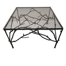 Adeline Cast Metal Branch End Table