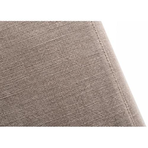 Divani Casa Atrium - Modern Classic Natural Fabric Sectional Sofa