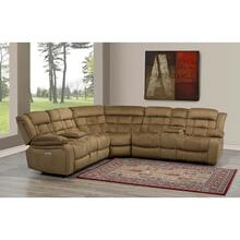 Isabella Dual Power Sectional W/dual Storage Console