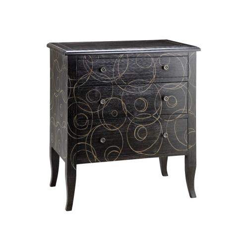 Going In Circles 3-Drawer Chest