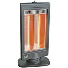 Oscillating Flat Panel Dual Halogen Heater