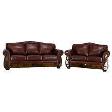 Leather/Cowhide Sofa & Love SeatCollection