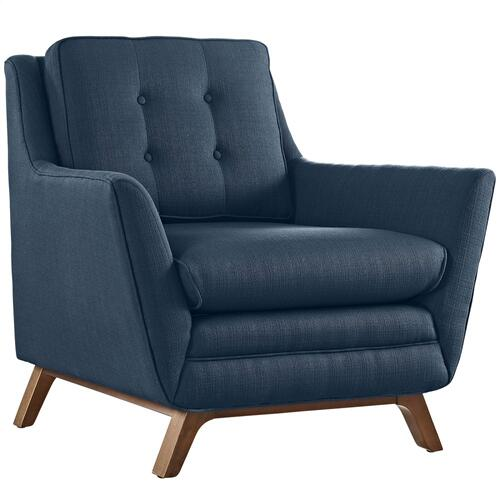 Modway - Beguile Living Room Set Upholstered Fabric Set of 2 in Azure