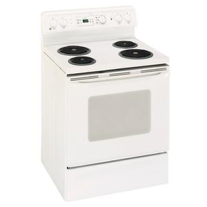 "GE Spectra 30"" Free-Standing QuickClean Electric Range"