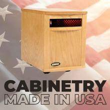 View Product - Original SUNHEAT USA1500 Infrared Heater - Golden Oak
