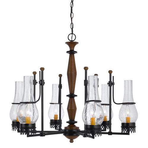 Cal Lighting & Accessories - 6 Light Trenton Chandelier