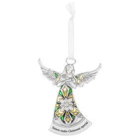 Angel Ornament - Sister make Christmas special