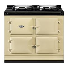 "AGA Total Control 39"" Electric Cream with Stainless Steel trim"