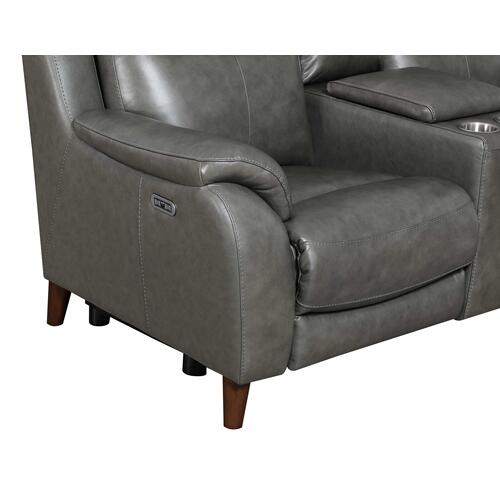 Trento Dual-Power Leather Reclining Chair