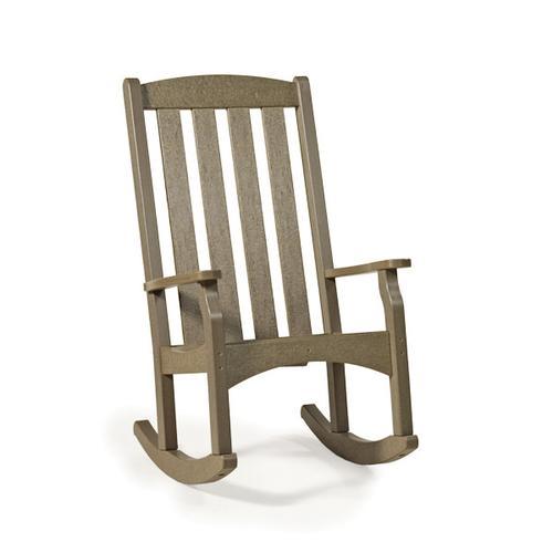 Quick Ship High Back Rocking Chair