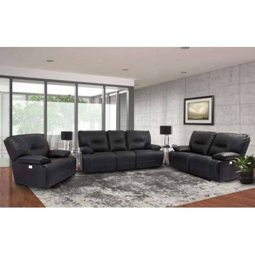 SPARTACUS - BLACK Power Reclining Collection