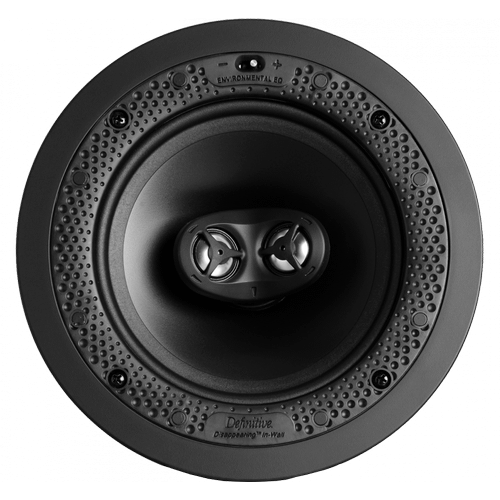 """Disappearing™ Series Round Stereo 6.5"""" In-Wall / In-Ceiling Speaker"""