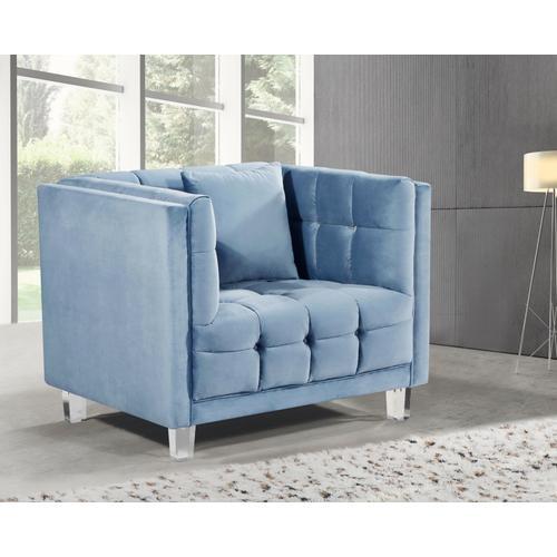 "Mariel Velvet Chair - 40"" W x 31"" D x 31"" H"