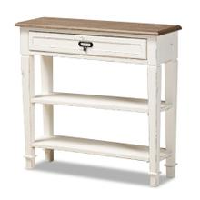 See Details - Baxton Studio Dauphine Traditional French Accent Console Table-1 Drawer