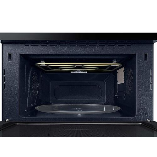 1.2 cu. ft. PowerGrill Duo™ Countertop Microwave with Power Convection and Built-In Application in Black