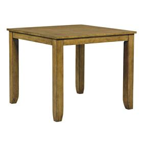 Vintage Counter Height Table, Honey Oak