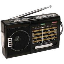 AM/FM/SW1 to SW7 10-Band Radio with Flashlight