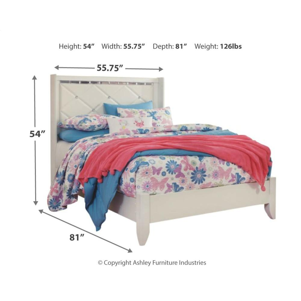 Dreamur Full Panel Bed