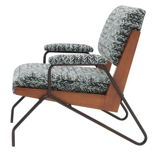 Smith KD Fabric Accent Arm Chair, Arrow Deep Green