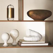 Abstract Bean Vase-Iris Gelp-Lg