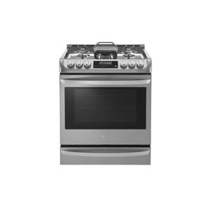 6.3 cu. ft. Smart wi-fi Enabled Gas Single Oven Slide-in Range with ProBake Convection® Product Image