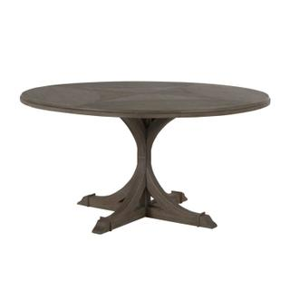 See Details - Adams Round Dining Table- Gray
