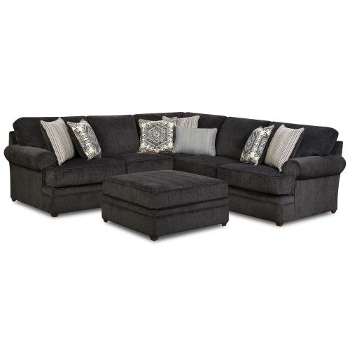 8530 Left Arm Facing Bump Sofa