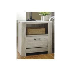 Bellaby One Drawer Night Stand Whitewash