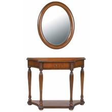View Product - Console Table/mirror Set