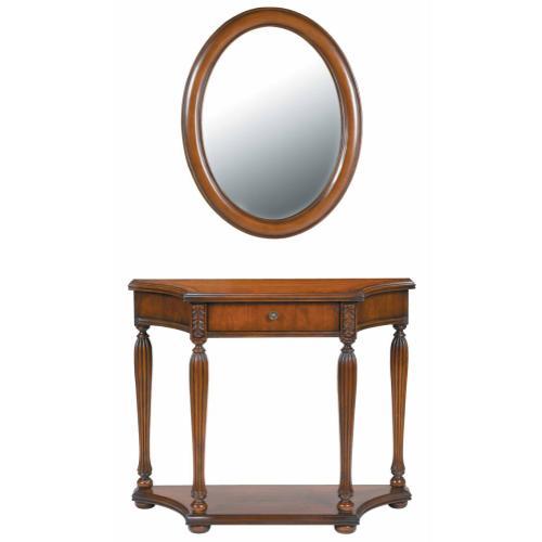Stein World - Console Table/mirror Set
