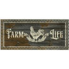 Cozy Cabin Farm Life Dark Gray