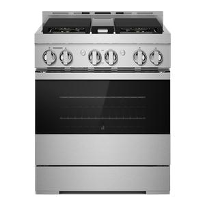 "JennAir30"" NOIR Gas Professional-Style Range"