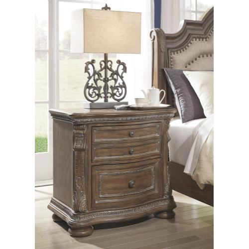 Charmond Two Drawer Night Stand