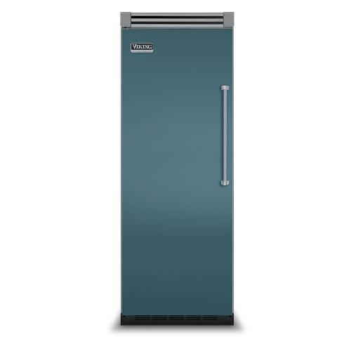 "Viking - Iridescent Blue 30"" Quiet Cool™ All Refrigerator - VIRB Tru-Flush™ (Left Hinge Door)"