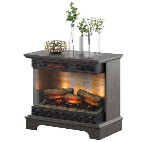 Gallery - PanoGlow 3D Infrared Quartz Electric Fireplace