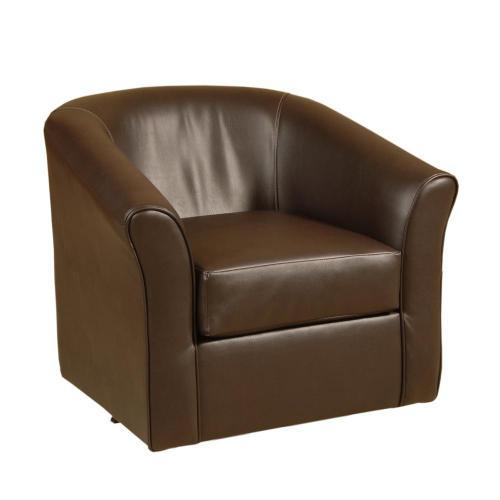 89 Swivel Chair San Marino Chocolate