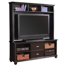 """See Details - Casual Traditional 67"""" Console and Hutch with Door"""