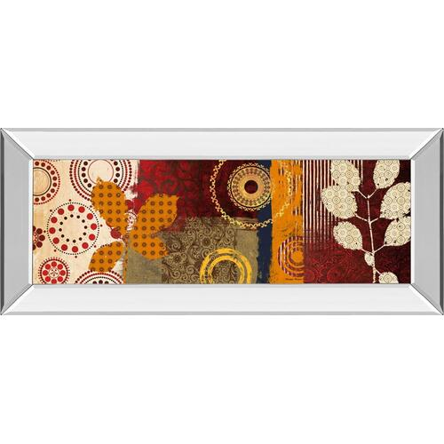 "Classy Art - ""Fall Leaf Panel I"" By Michael Marcon Mirror Framed Print Wall Art"