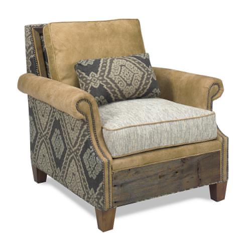 Green Gables Furniture - Norfolk Chair -aztec Sunrise - Sunrise
