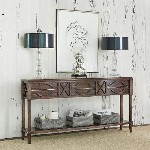 Ambella Home - Spindle Console - Walnut