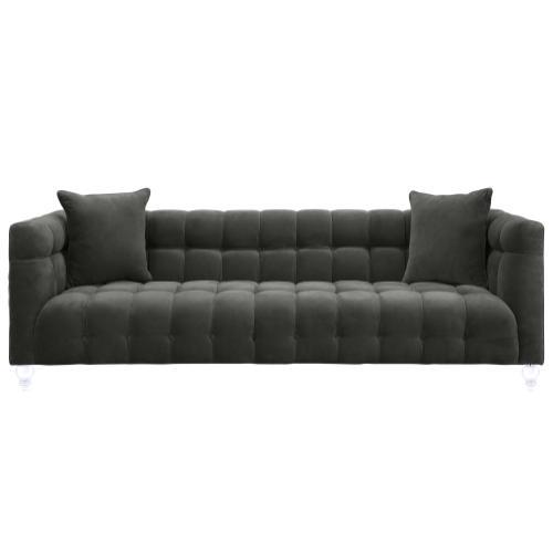 Tov Furniture - Bea Grey Velvet Sofa