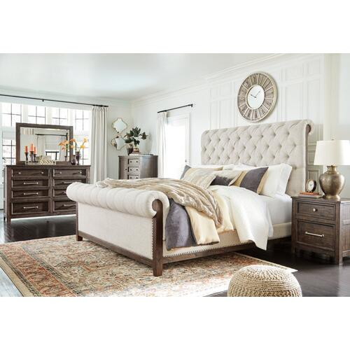 Hillcott California King Upholstered Bed
